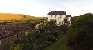 Breakfast in the Farmhouse Above Aberdovey