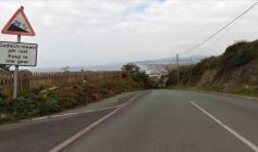 35mph Approach to Borth