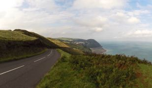 Lynmouth from Countisbury Hill
