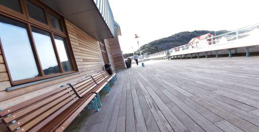 Mumbles ALB on pier