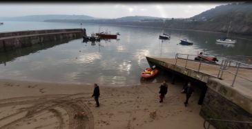 New Quay Harbour & Lifeboat Slipway