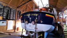 Tyne Class ALB in St David's old Boathouse